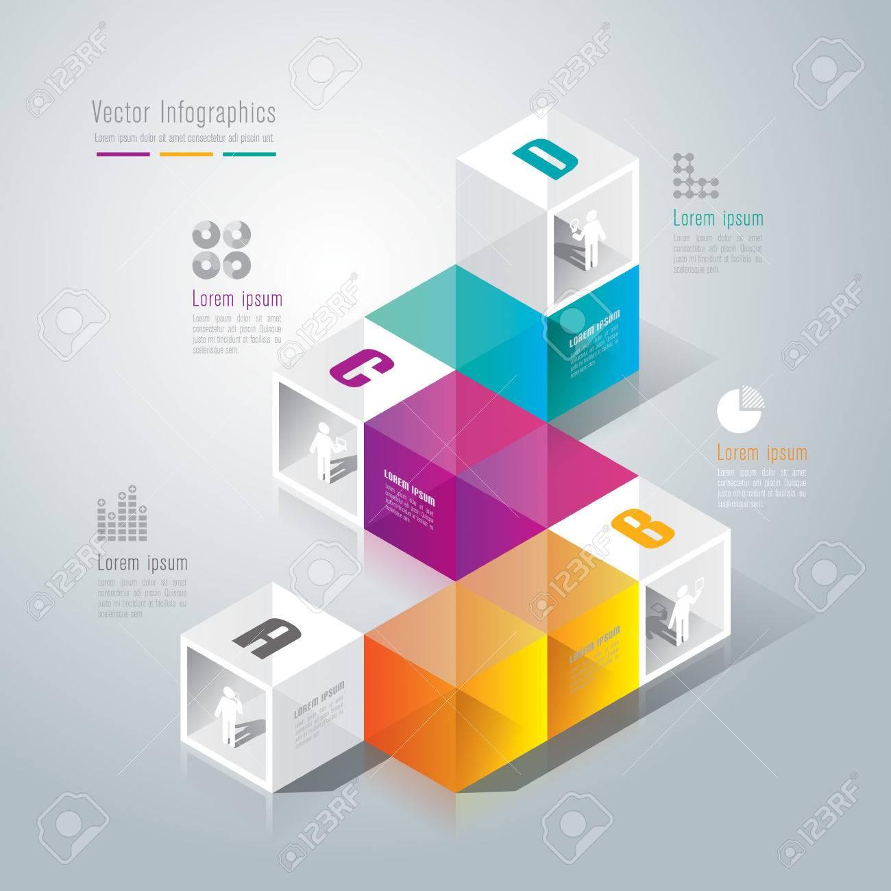 Infographics design template Stock Vector - 26752654