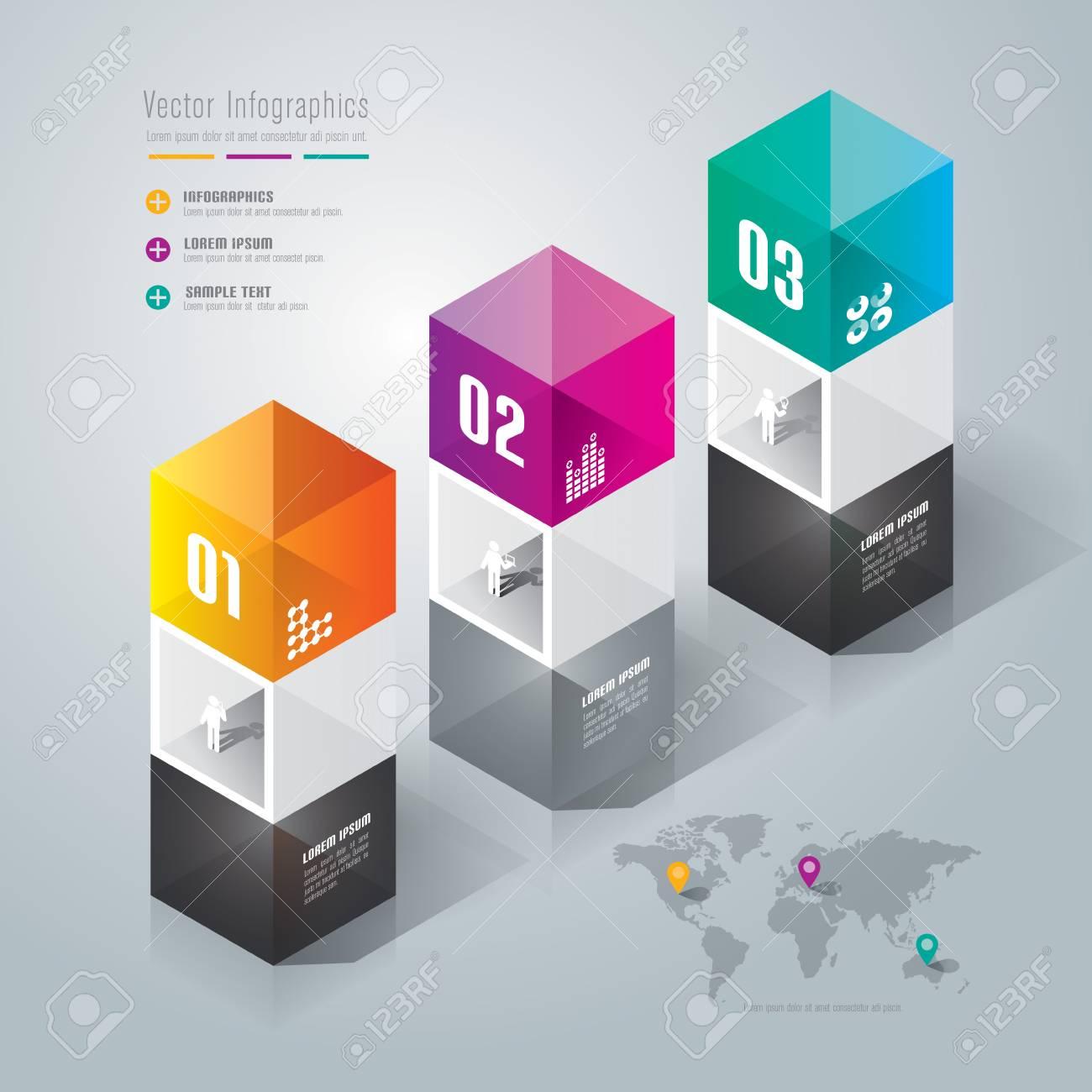 Infographics design template Stock Vector - 26723926