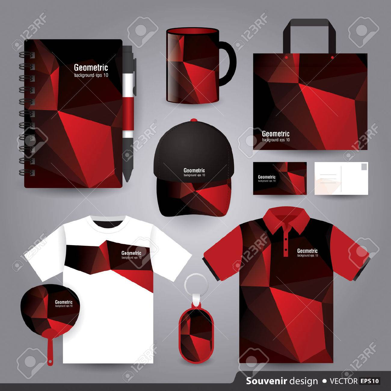 Gift Set Template, Corporate Identity Design Royalty Free Cliparts ...