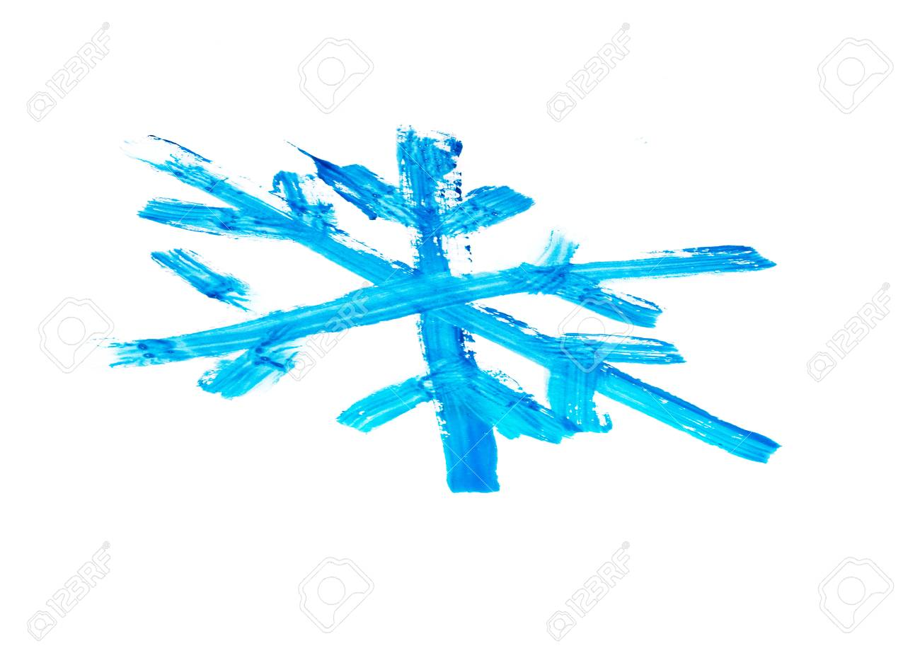 Schnee~~POS=TRUNC Flocke~~POS=HEADCOMP Malerei Lizenzfreie Fotos ...