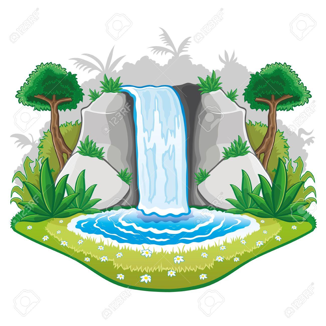 Ilustración De La Naturaleza De Dibujos Animados