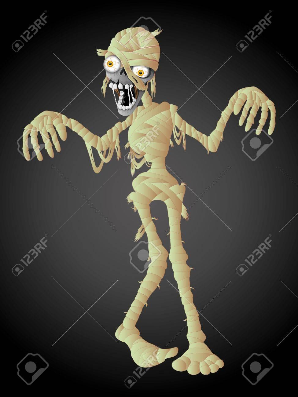 Mummy Halloween Stock Vector - 21537107