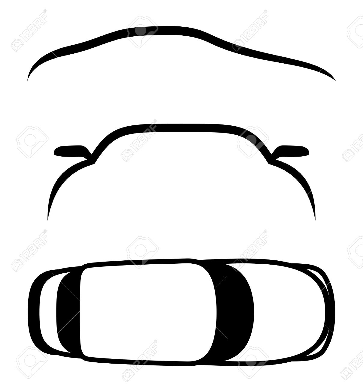 vector 3 icons cars royalty free cliparts vectors and stock rh 123rf com car icon vector top view car icon vector free