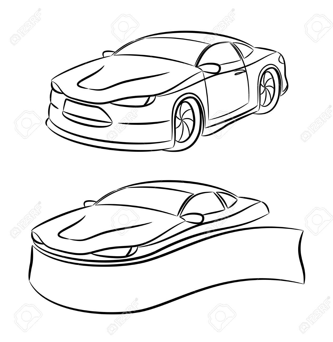 2 icons  Car Stock Vector - 21670463
