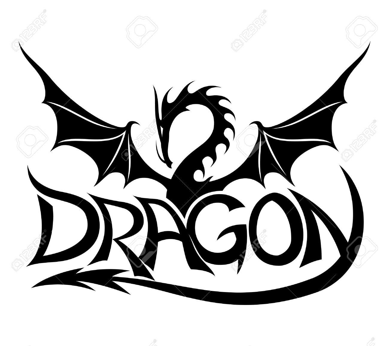 dragon sign royalty free cliparts vectors and stock illustration rh 123rf com vector dragon head vector dragon ball