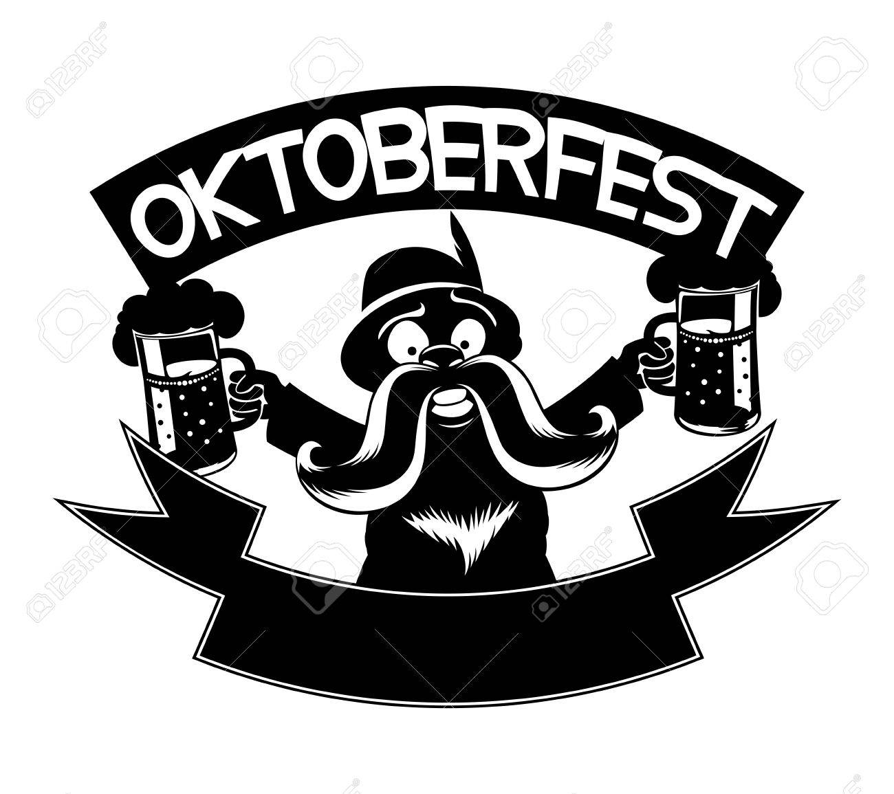 Vector Sign. Oktoberfest. Royalty Free Cliparts, Vectors, And ...