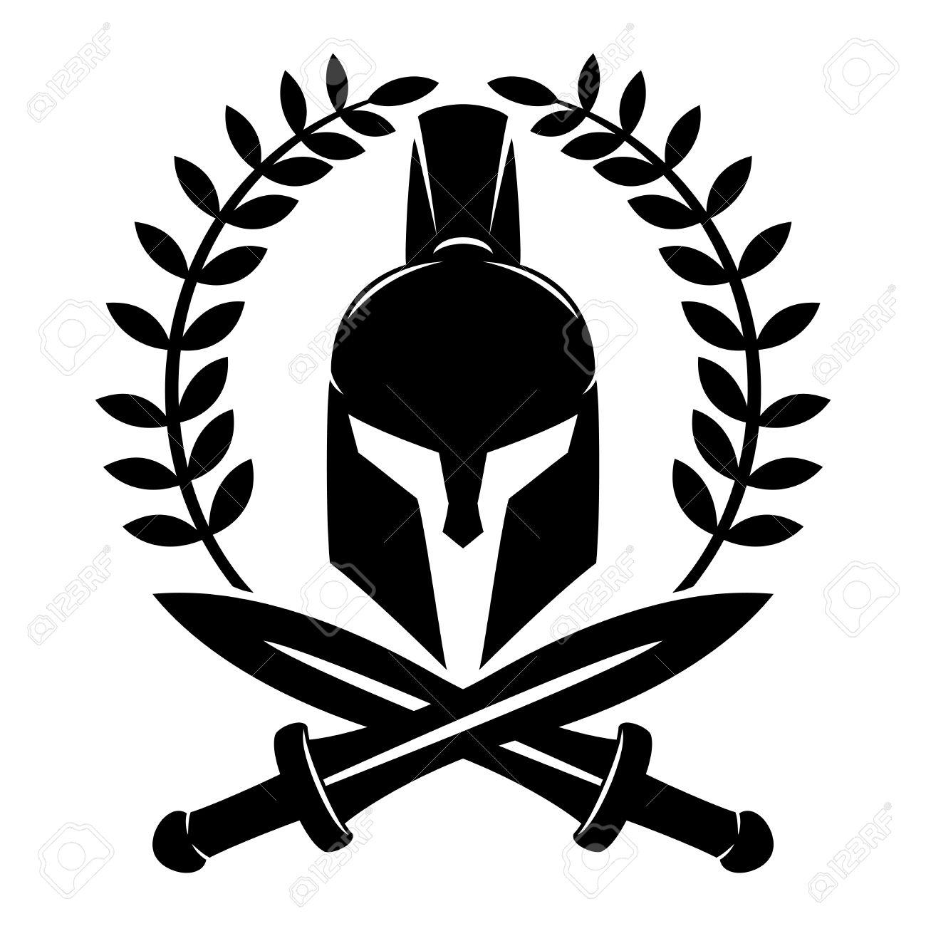 spartan helmet royalty free cliparts vectors and stock rh 123rf com spartan helmet logo hat spartan helmet logo clip art