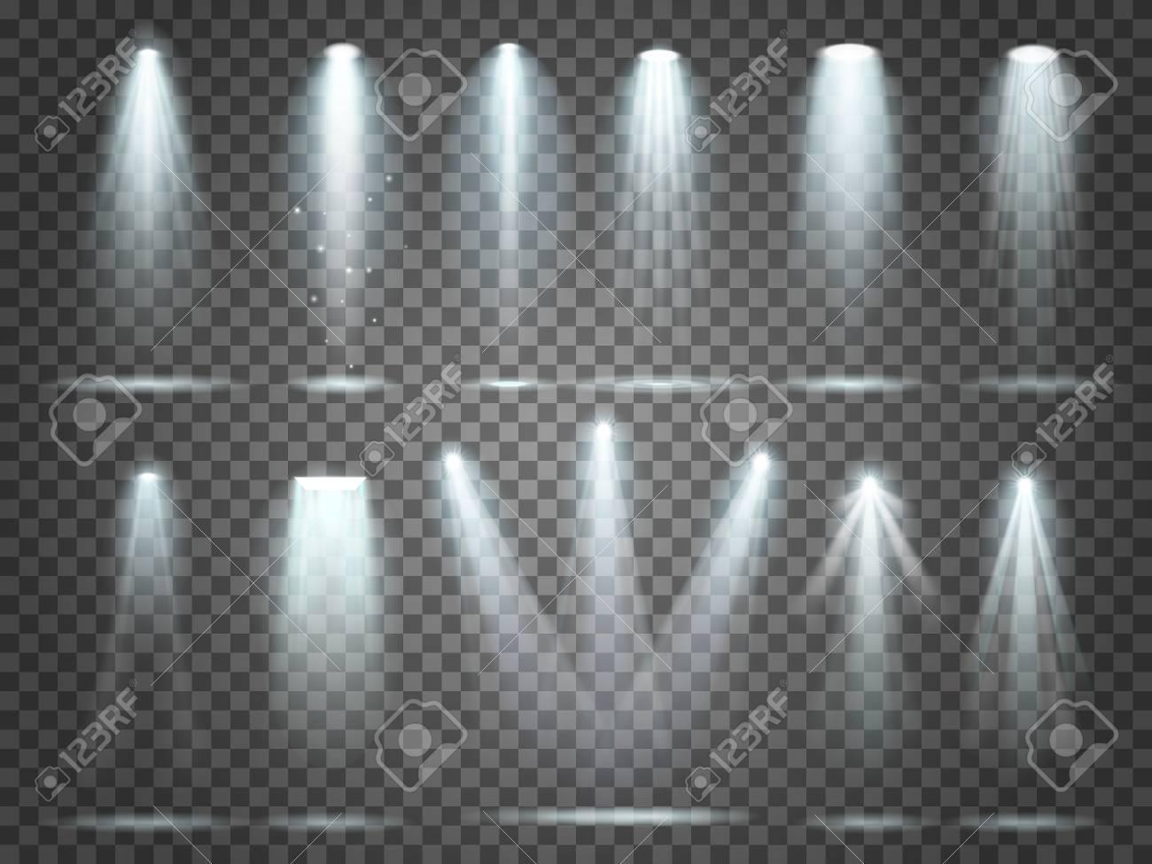Beam Of Floodlight Space Illuminators Lights Effects Stage Illumination Spotlight Night Club Party