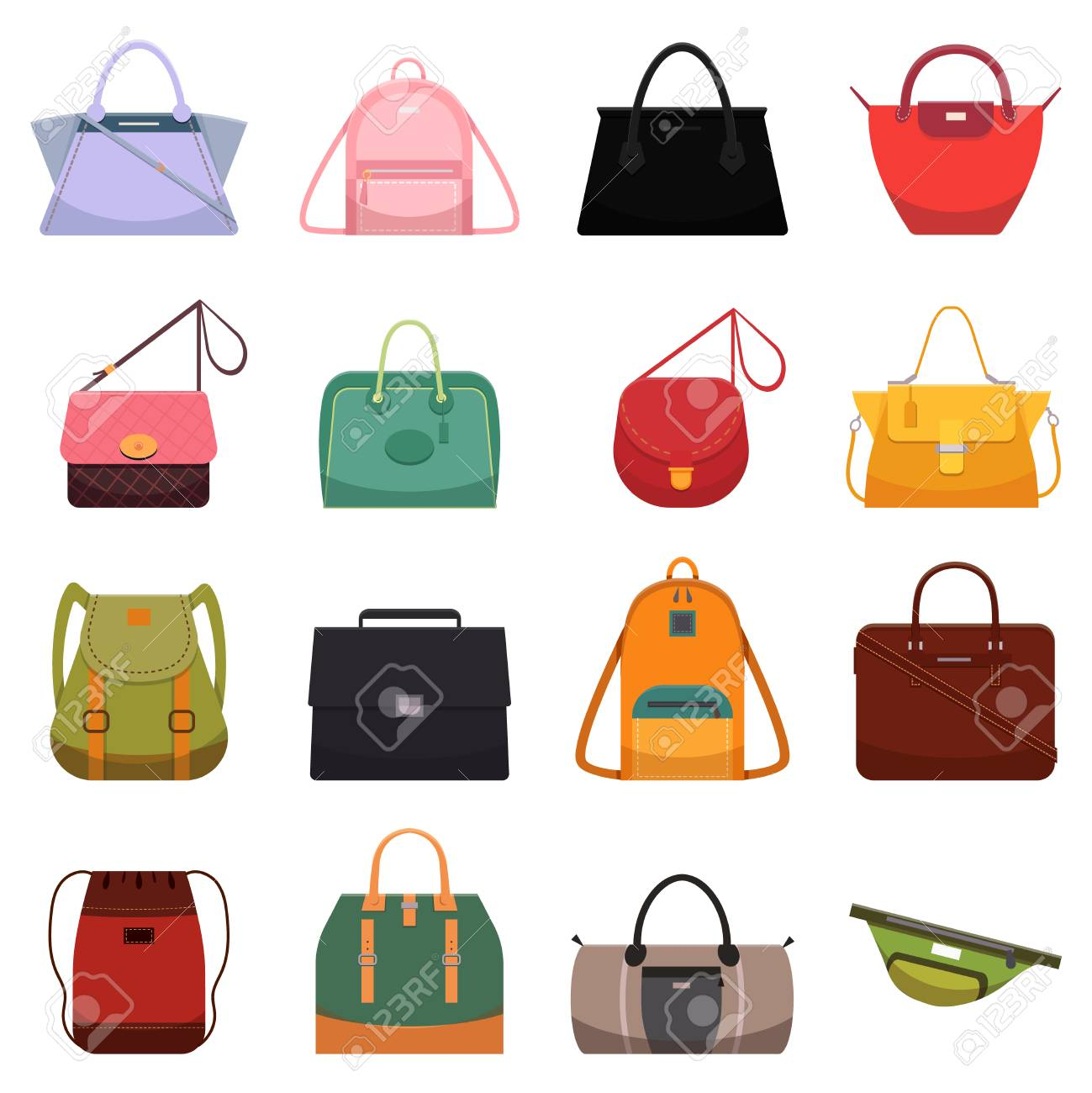 0d9bae704ac Woman leather casual bags, handbag satchel reticule purse backpack..