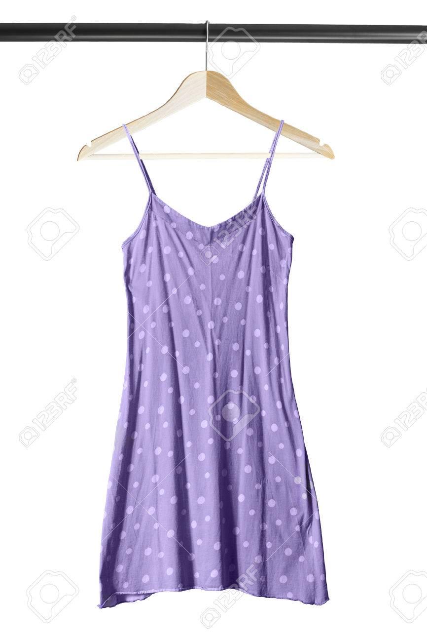 paarse zomerjurk