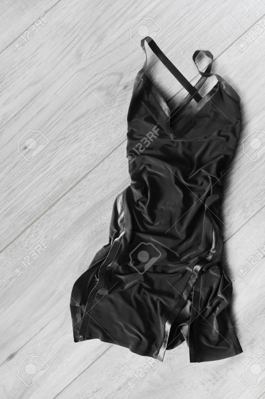 Lying On Floor the Dress