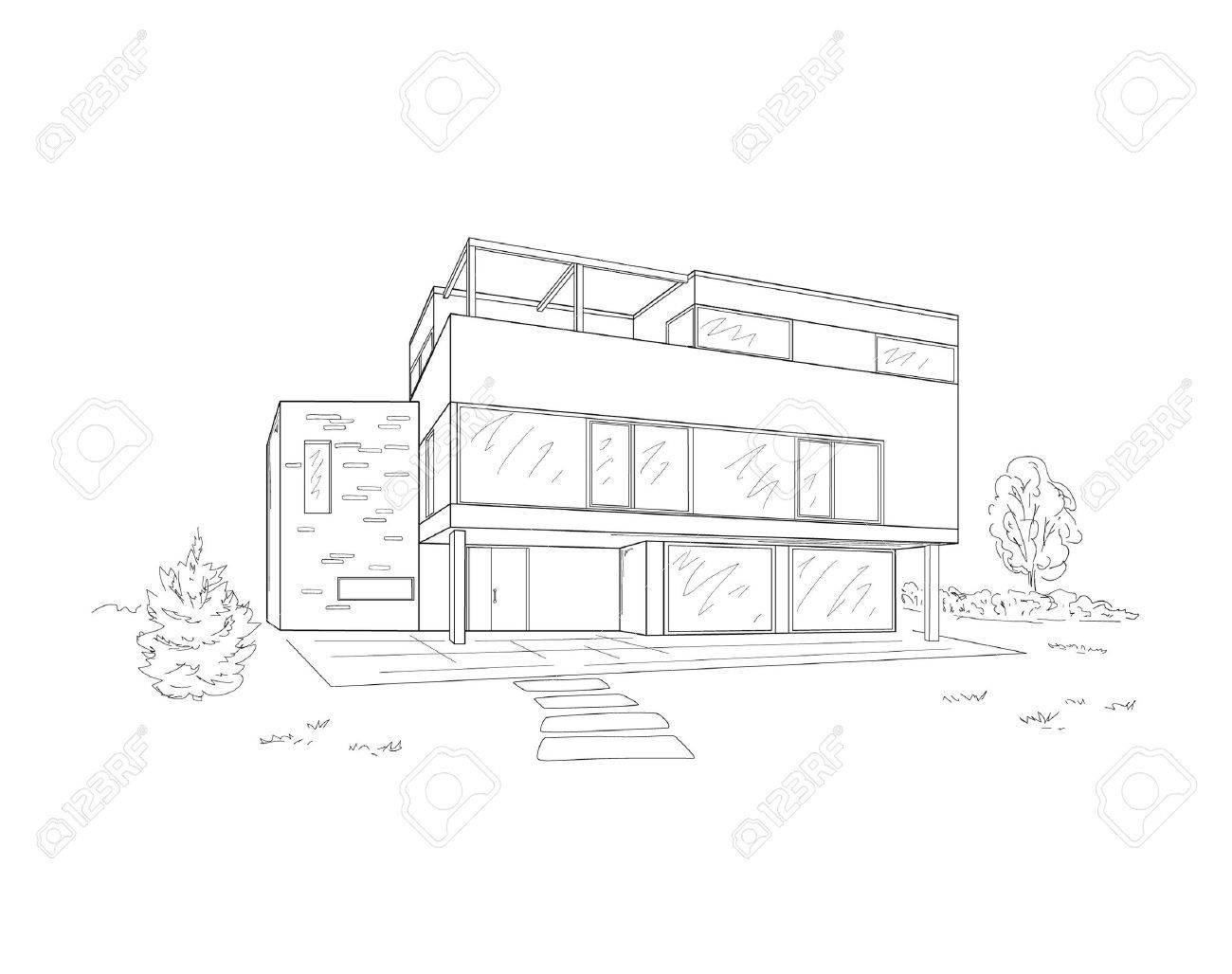 Building Drawing oyalty Free liparts, Vectors, nd Stock ... - ^