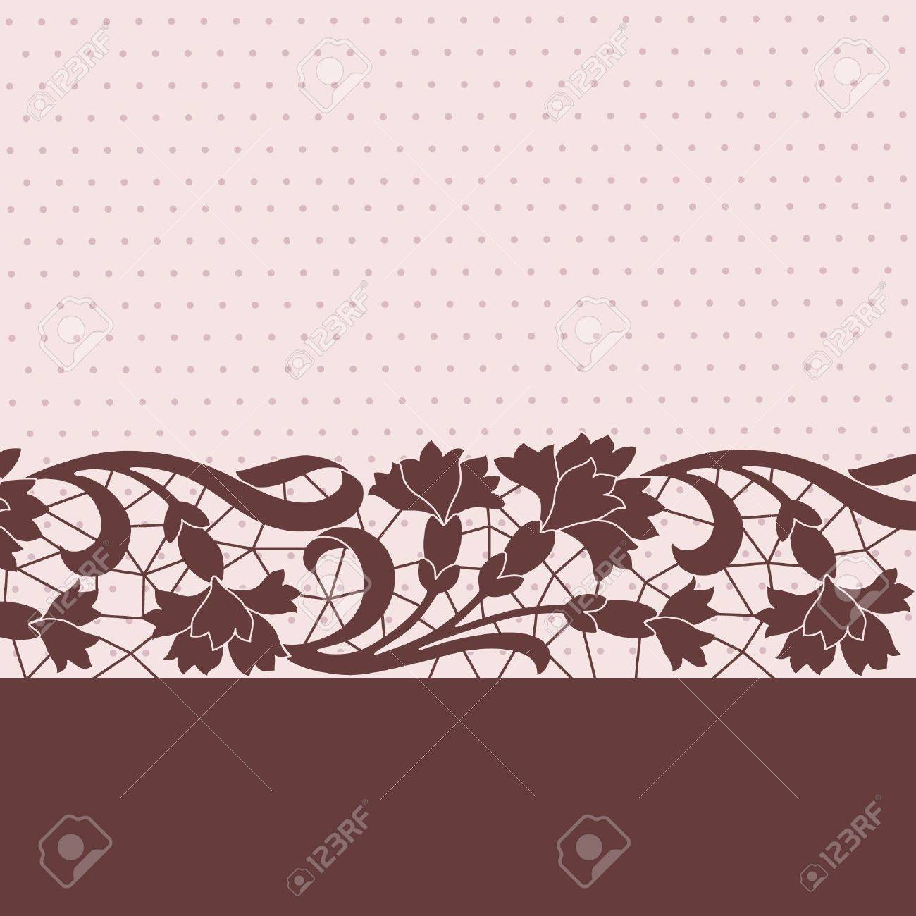 Template frame design for greeting card Stock Vector - 21919723