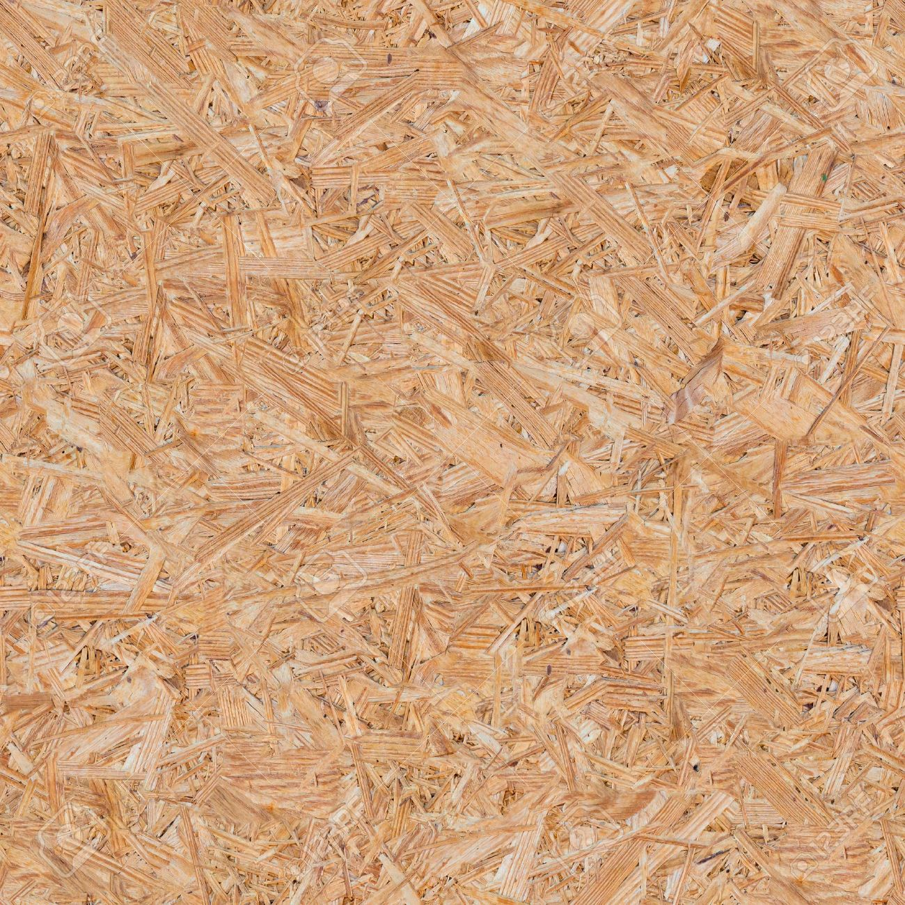 Pressed Wooden Panel Osb Seamless Tileable Texture Stock Photo