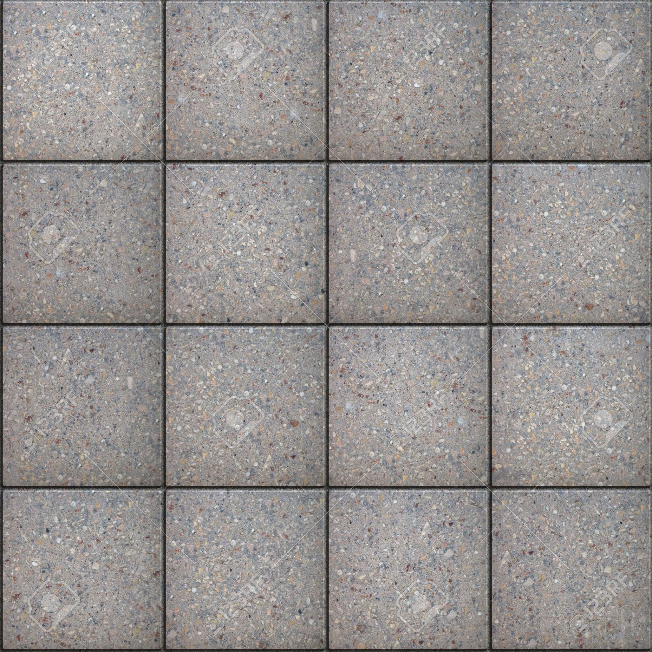 gray square pavement seamless tileable texture stock photo