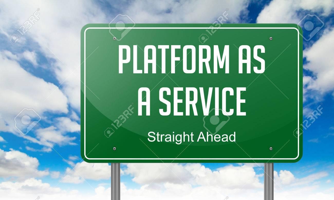 Highway Orientación Con Plataforma Como Servicio Redacción Sobre El ...