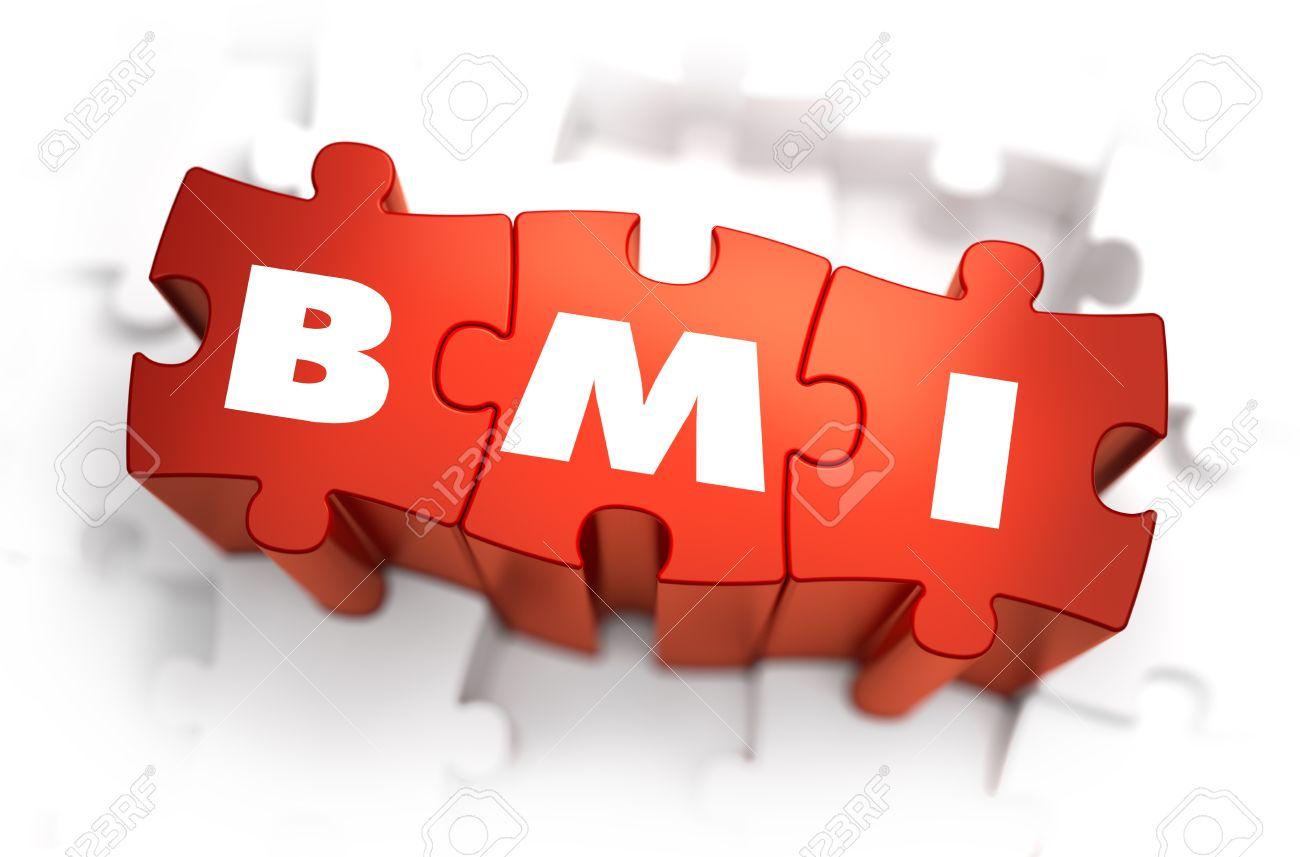 IMC - índice De Masa Corporal - Abreviatura Blanco Sobre ...