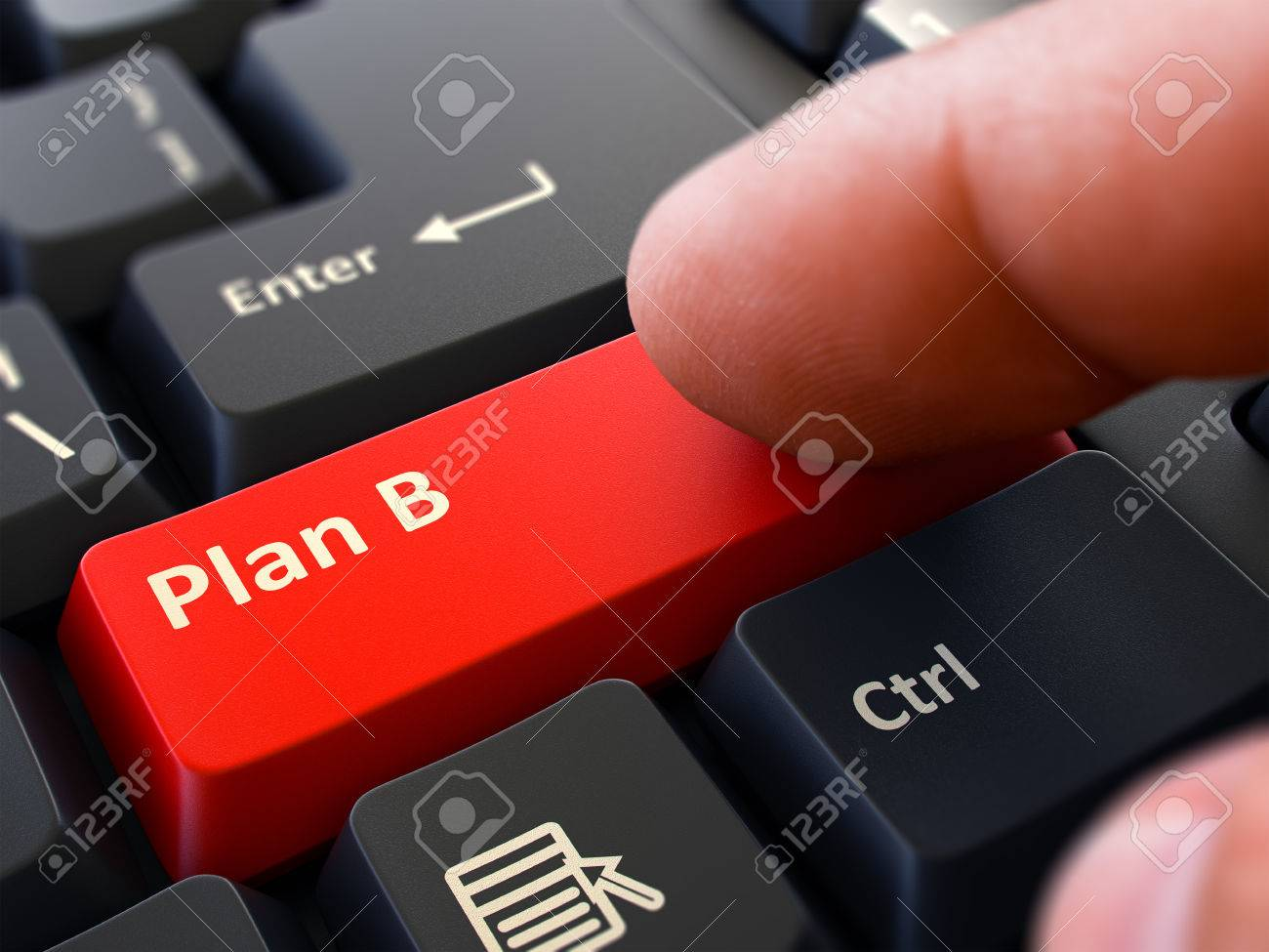 55460335-plan-b-written-on-red-keyboard-