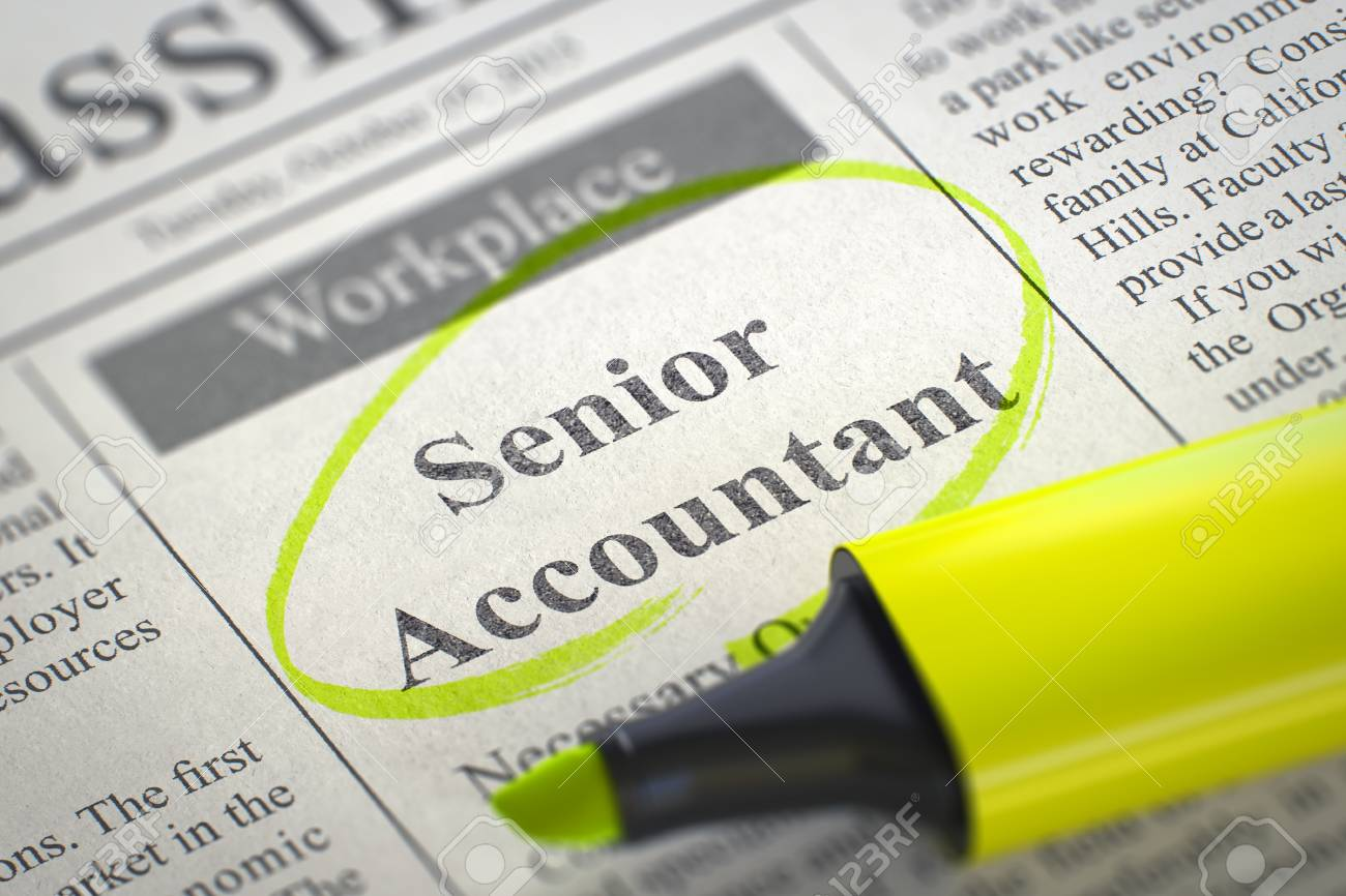 Image result for hiring Sr. Accountant