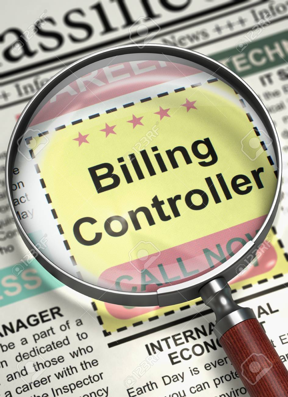 newspaper jobs billing controller billing controller newspaper jobs billing controller billing controller vacancy in newspaper job seeking concept