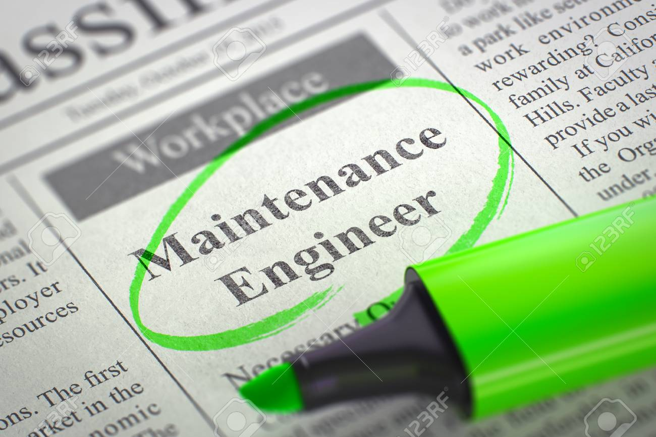 Image result for hiring Maintenance Engineer