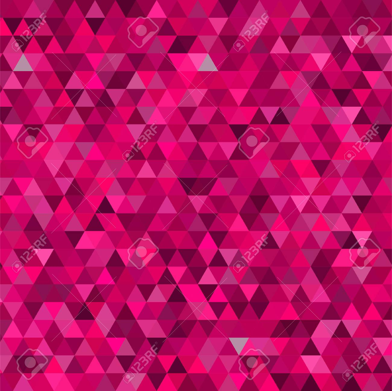 abstract background consisting of small pink triangles vector