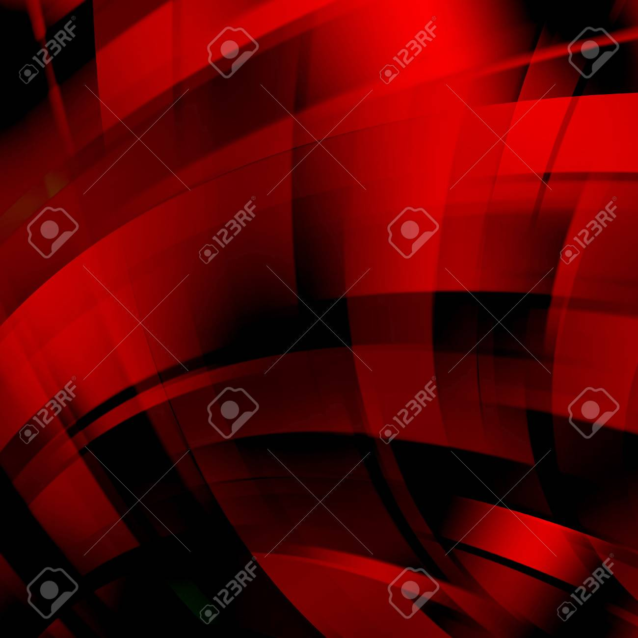 Abstract colorful background with swirl waves. Abstract background design. vector illustration. Red, black colors. - 53302434