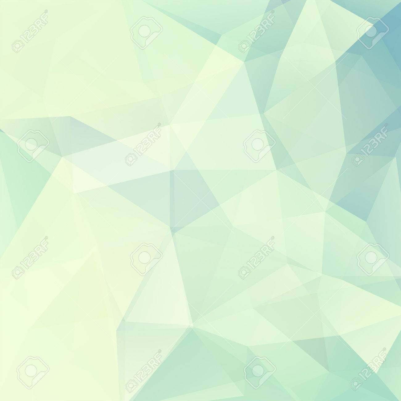 Geometric pattern, polygon triangles vector background in white,