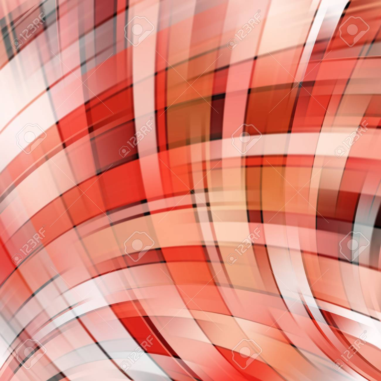 Shine Glow Background Wallpaper Pattern Abstract Shapes Red White Colors Stock
