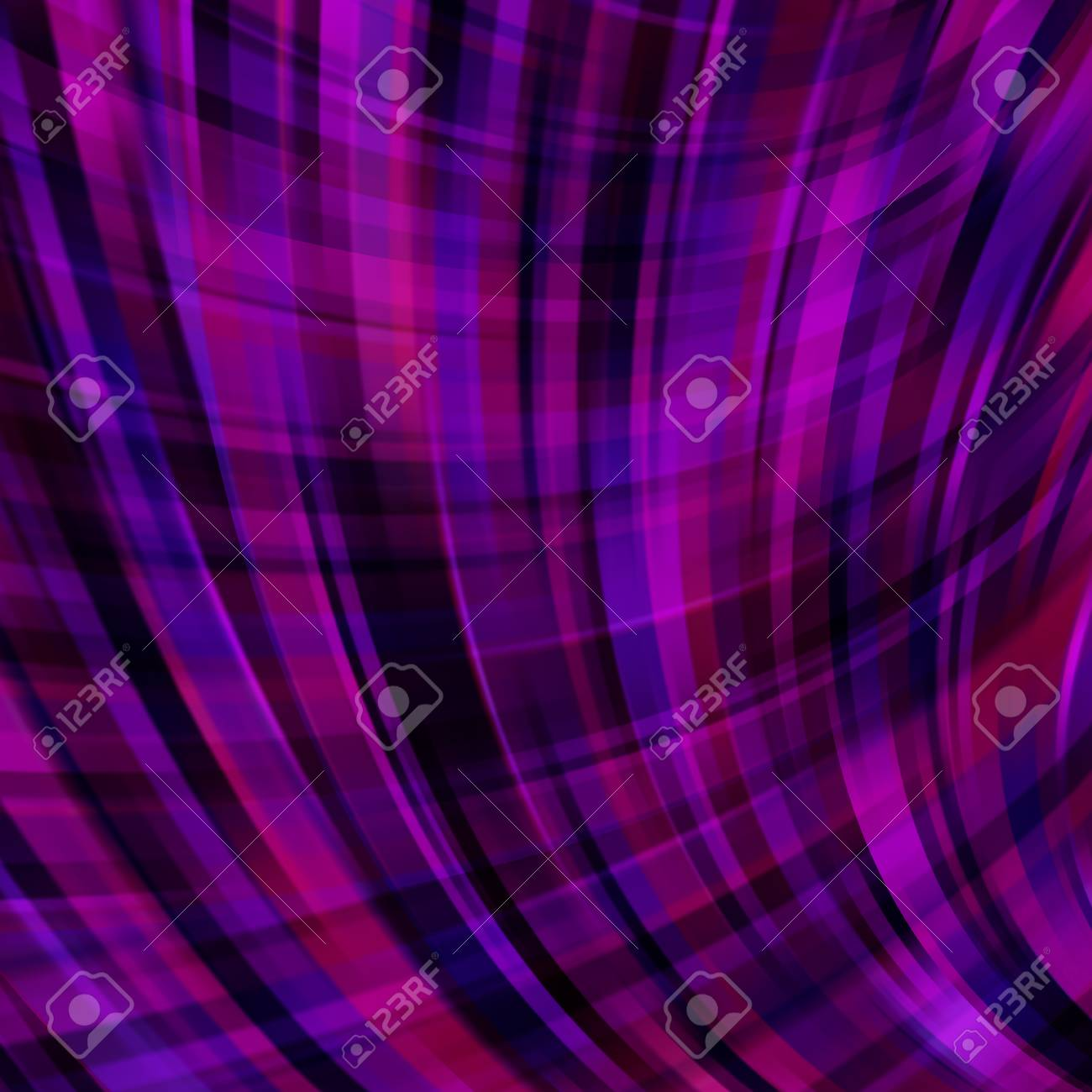 Wallpaper Pattern Abstract Shapes Pink Black Colors Stock Vector