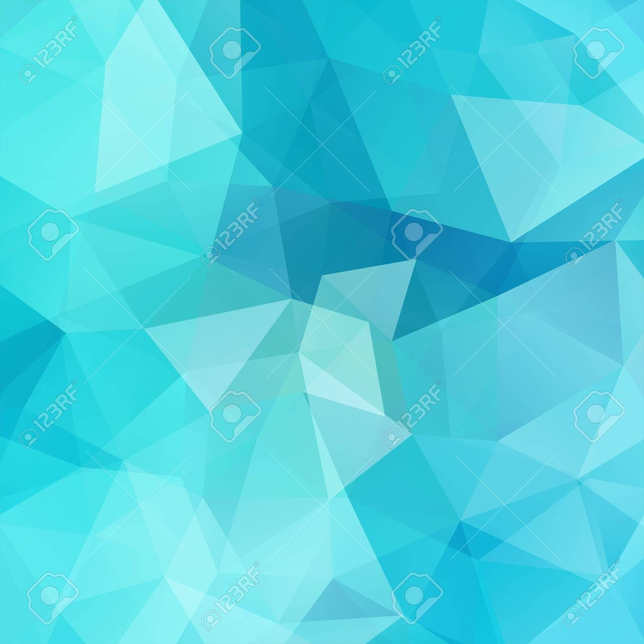 Abstract geometric style blue background. Vector illustration - 120610661