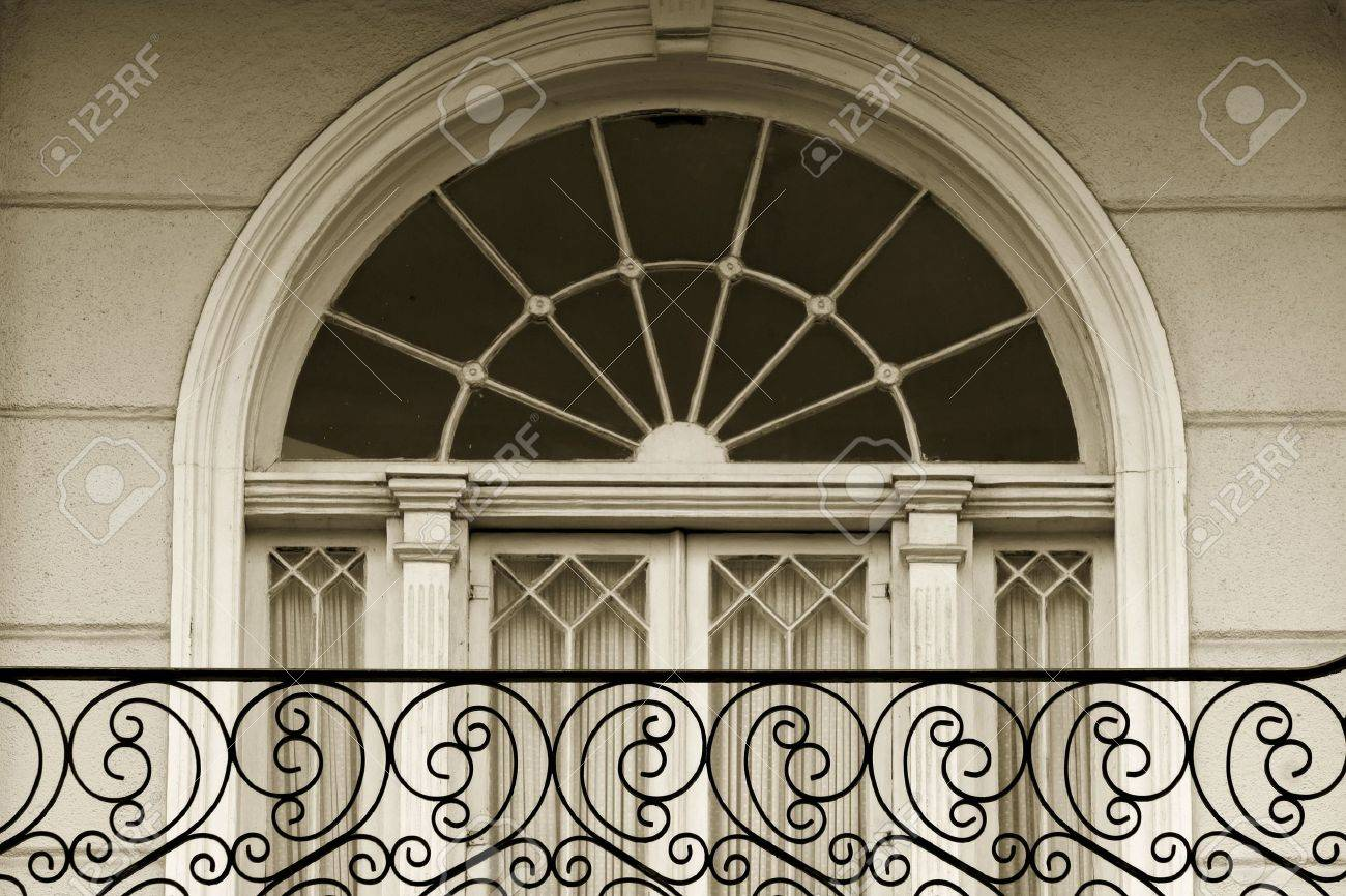 Window Detail In Garden District Of New Oleans Stock Photo, Picture ...