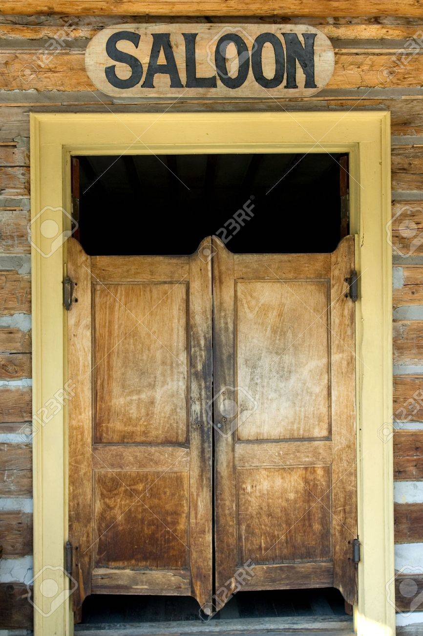 Authentic saloon doors of old western building in Montana ghost town Stock  Photo - 2969065 - Authentic Saloon Doors Of Old Western Building In Montana Ghost