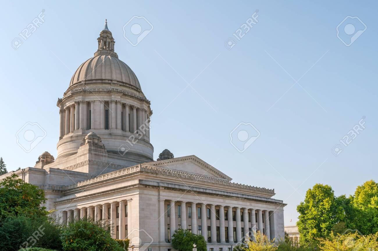 State Capitol (Legislative building) in Olympia, capital of Washington state, USA - 139213373
