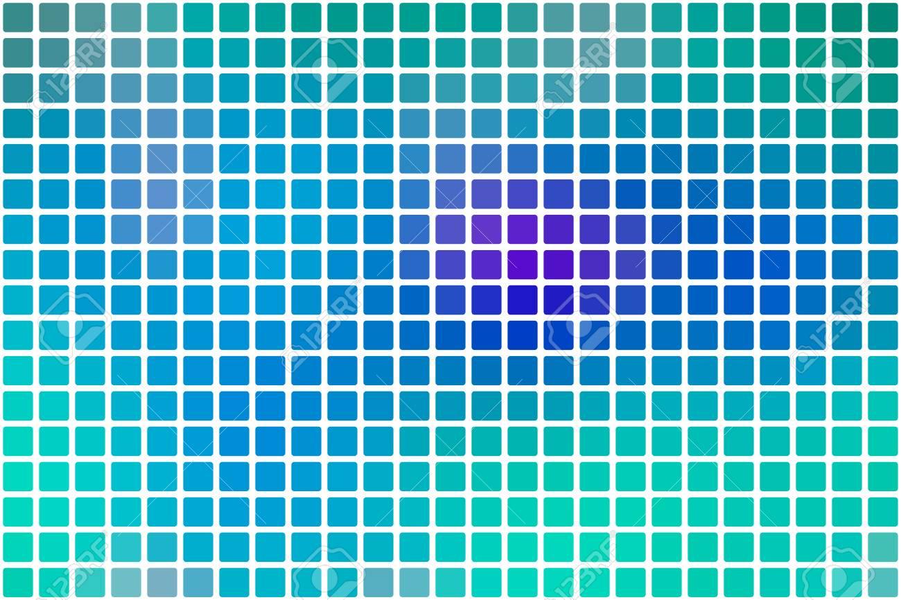 Turkis Blau Lila Vektor Abstrakte Mosaik Hintergrund Mit