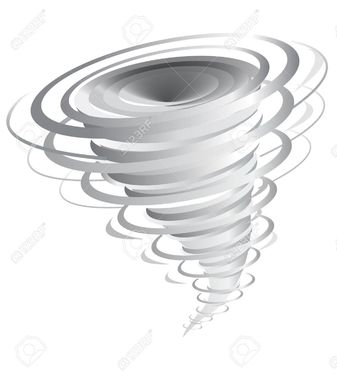 tornado vector illustration Stock Vector - 1999464
