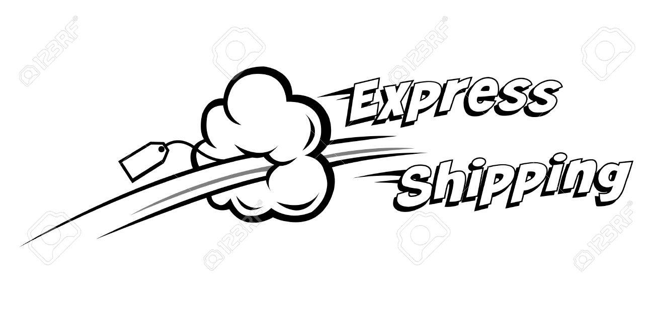 express shipping vector icon. Ideal for delivery and courier usage - 4922714