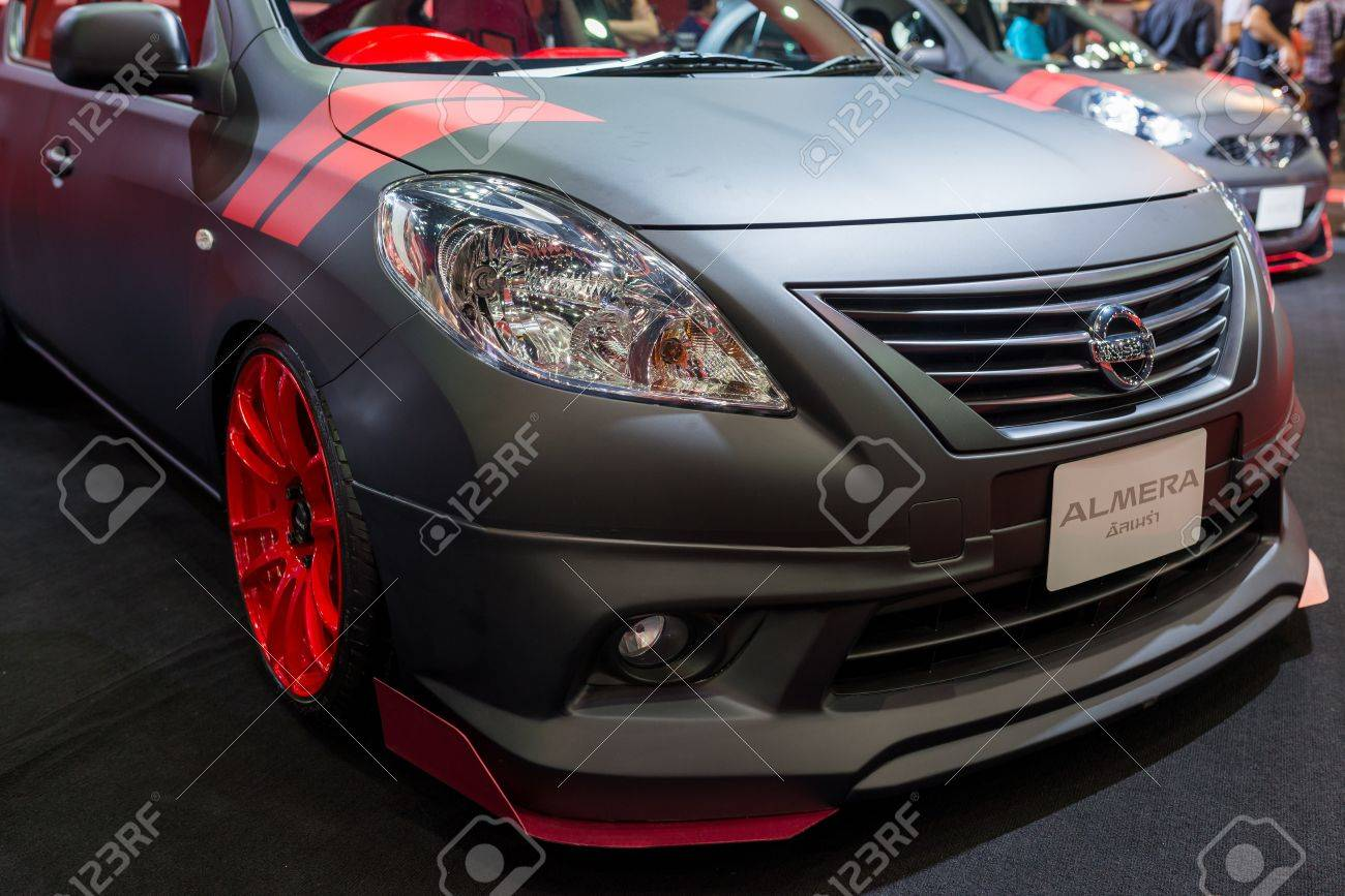 Bangkok Thailand June 22 2013 Modified Nissan Almera On Stock Photo Picture And Royalty Free Image Image 21839626