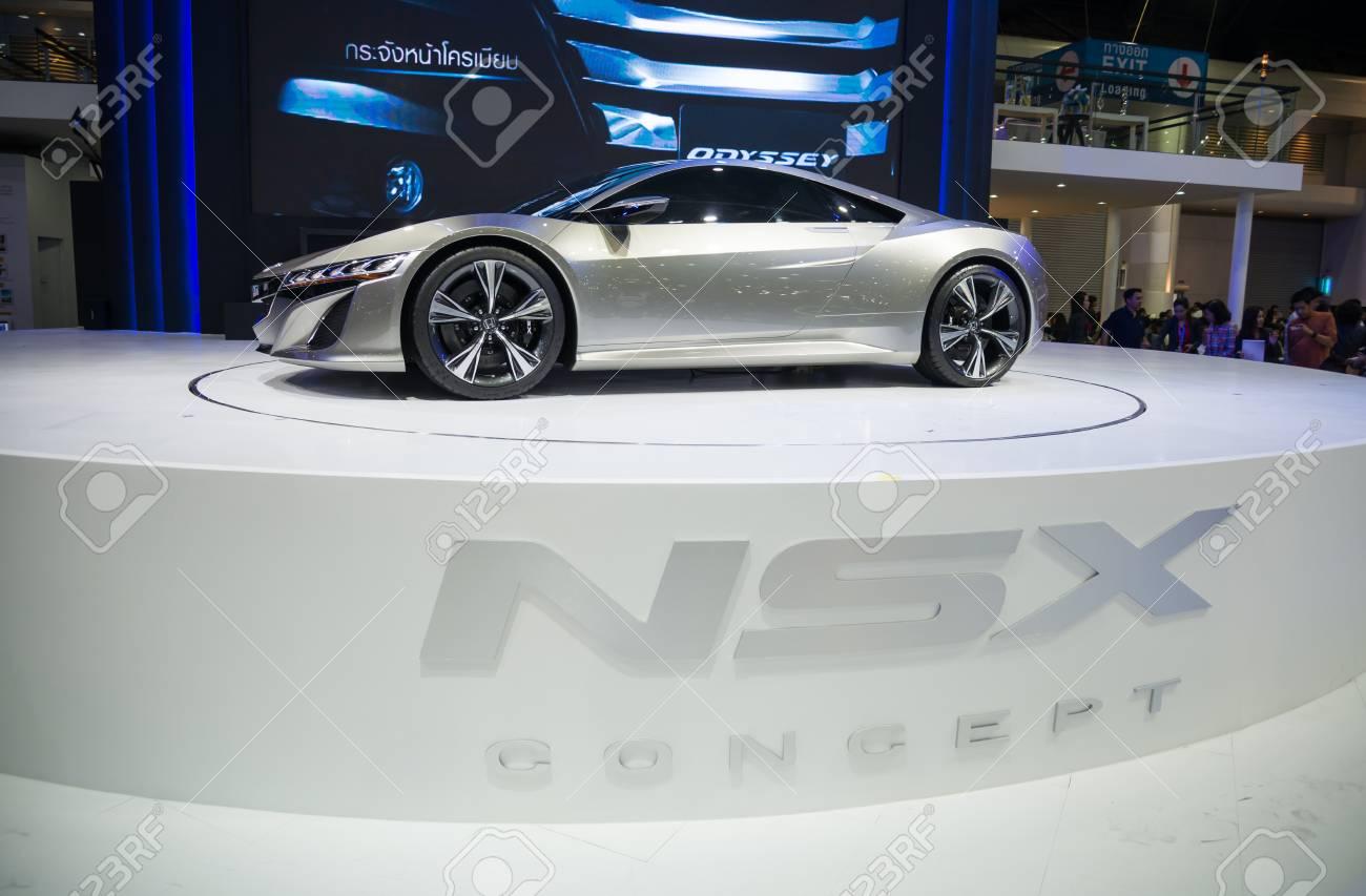 9f497e6cd BANGKOK - NOVEMBER 28 : Honda NSX Concept on display at The 30th Thailand  International Motor