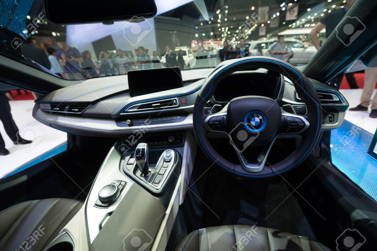 bmw i8 price interior. bangkok march 25 interior of bmw i8 hybrid production car on display at the bmw price