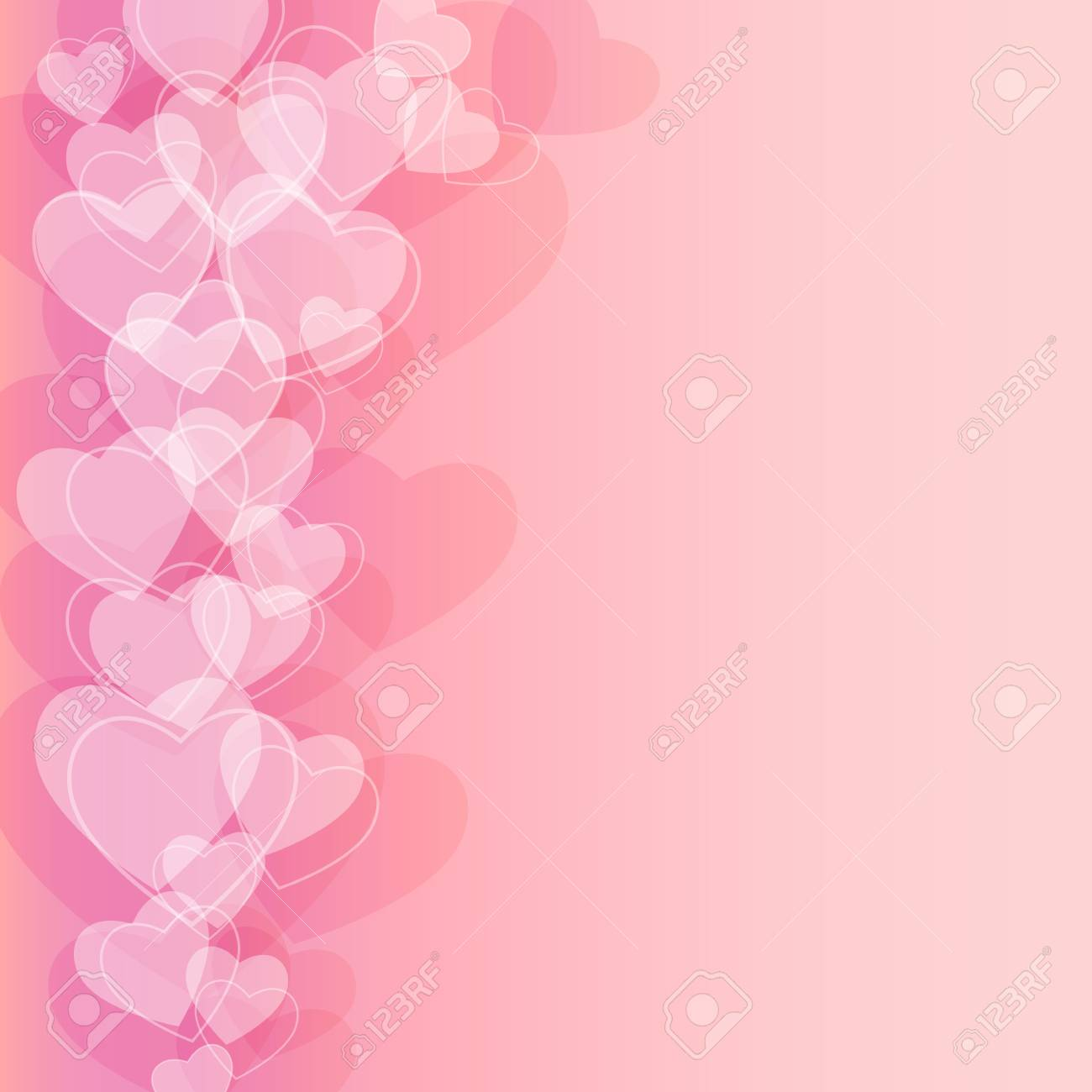 Abstract background to the Valentine s day Stock Vector - 17380360