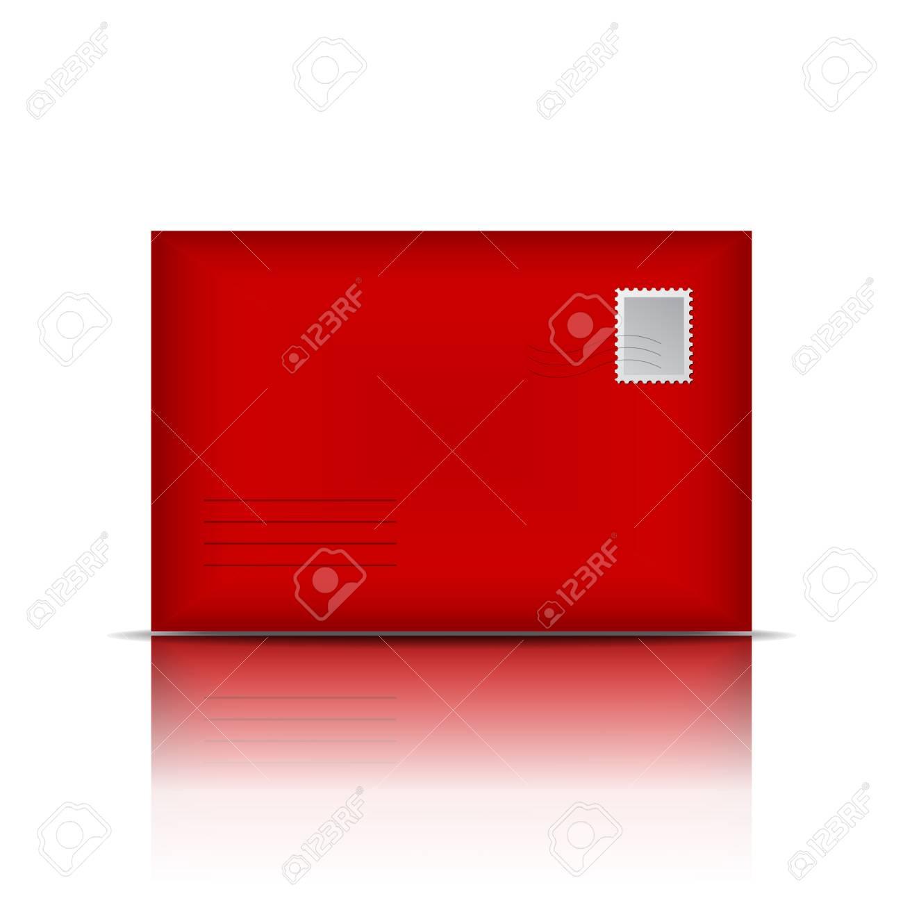Red envelope  Vector illustration Stock Vector - 18991461