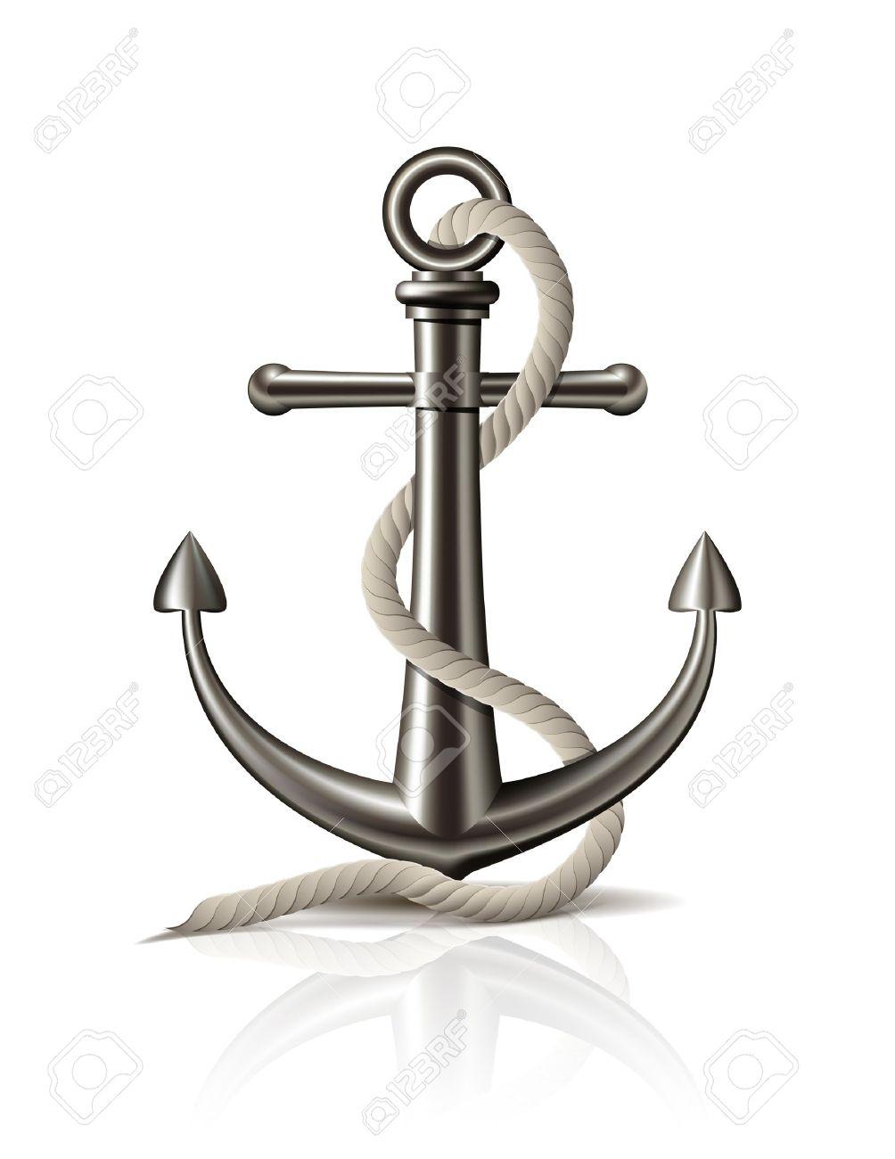 Anchor Rope Vect Anchor Vector Png Anchor Vector Vector Anchor