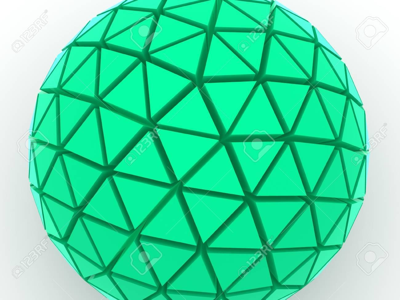 Sphere 3d Stock Photo - 1736945