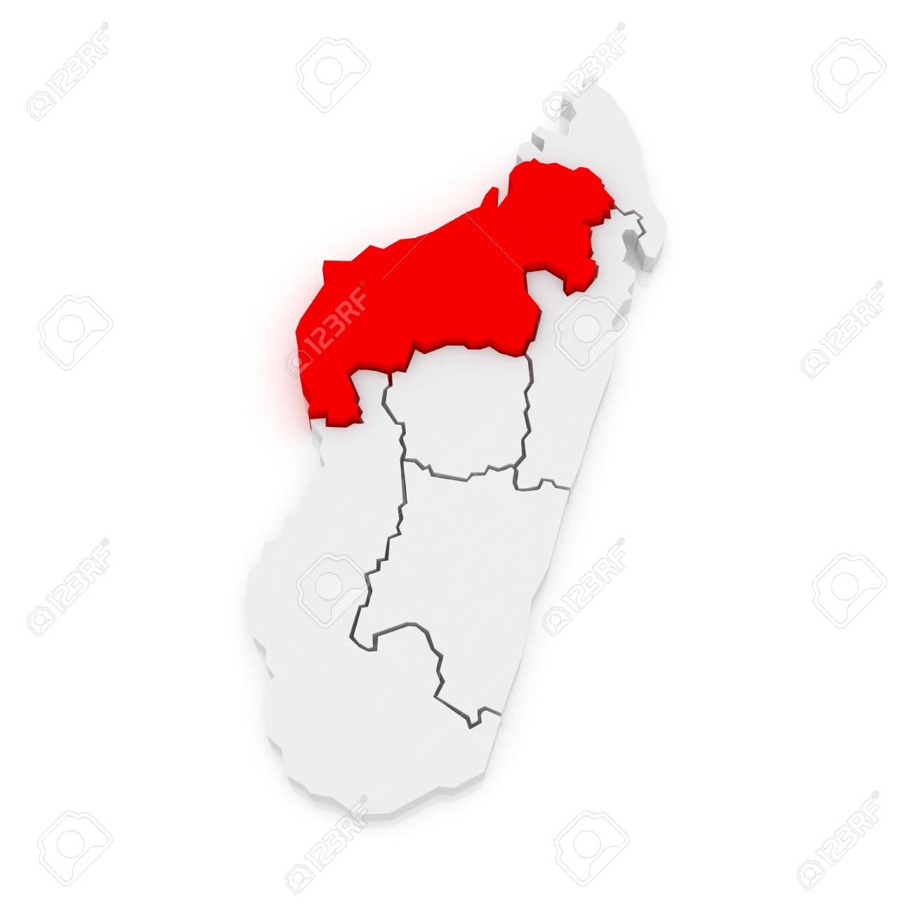 Map Of Mahajanga Madagascar 3d Stock Photo Picture And Royalty