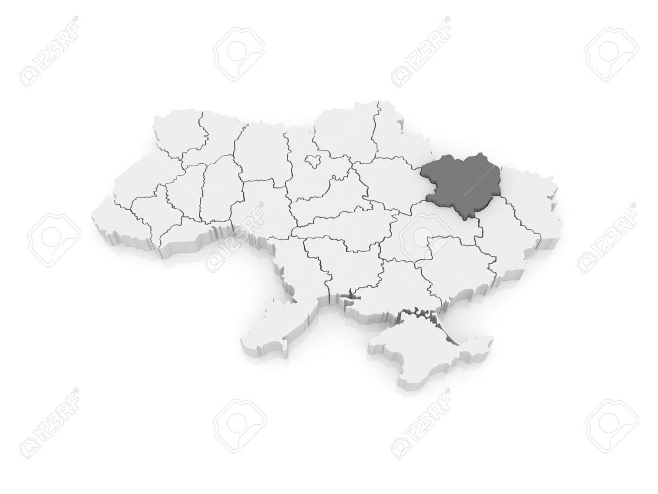 Map of Kharkov region. Ukraine. 3d Kharkov Ukraine Map on kharkiv military map, the lake of ozarks map, odessa ukraine map, crimea region ukraine map, kiev map, minsk map, kharkiv ukraine map, kramatorsk ukraine map, donetsk map, vinnytsia ukraine map, ukraine military bases map, east ukraine map, poltava map, bessarabia ukraine map, ato ukraine map, detailed city street map, belaya tserkov ukraine map, ukraine religion map, donbass ukraine map, dnipropetrovsk ukraine map,