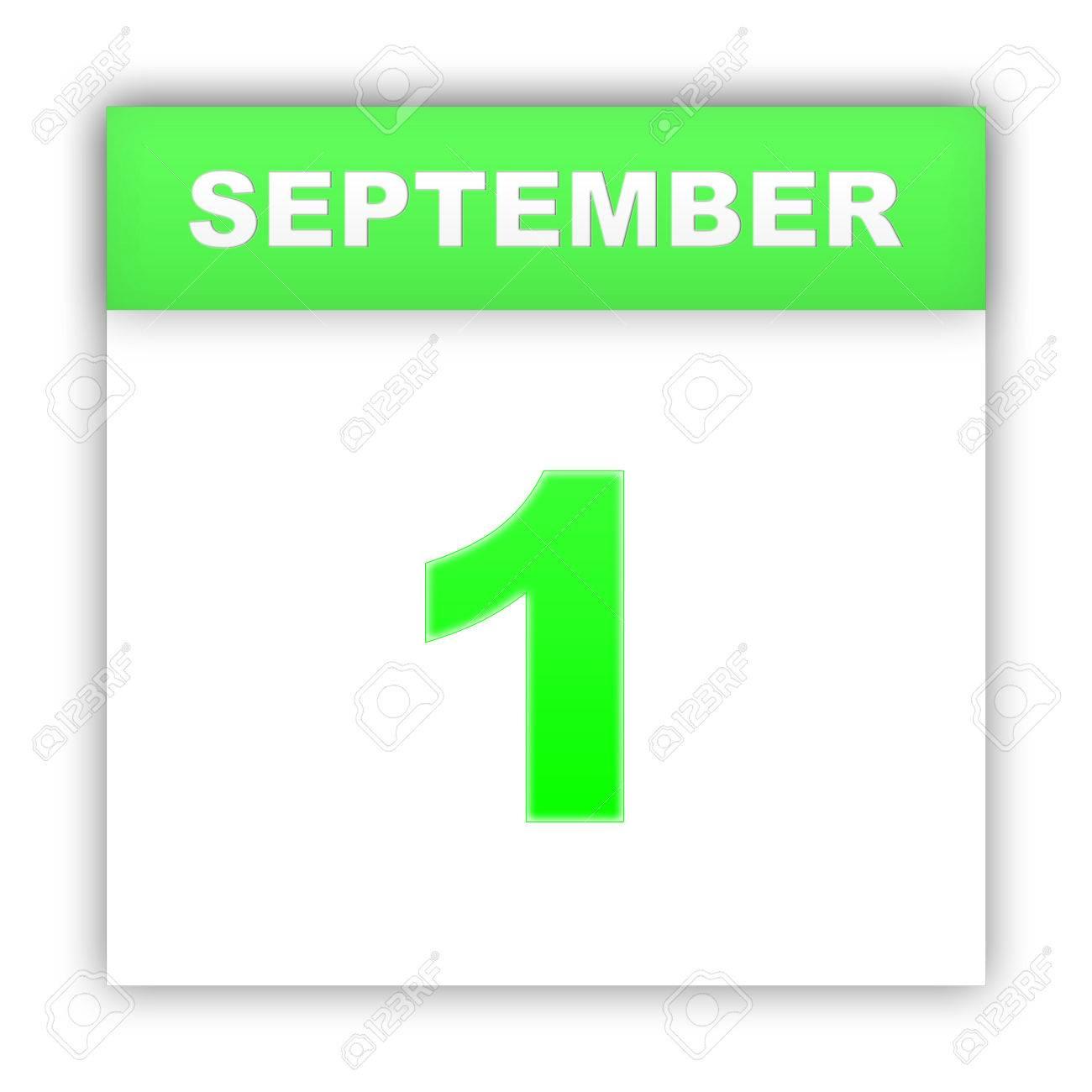 Resultado de imagen para 1 de septiembre calendario