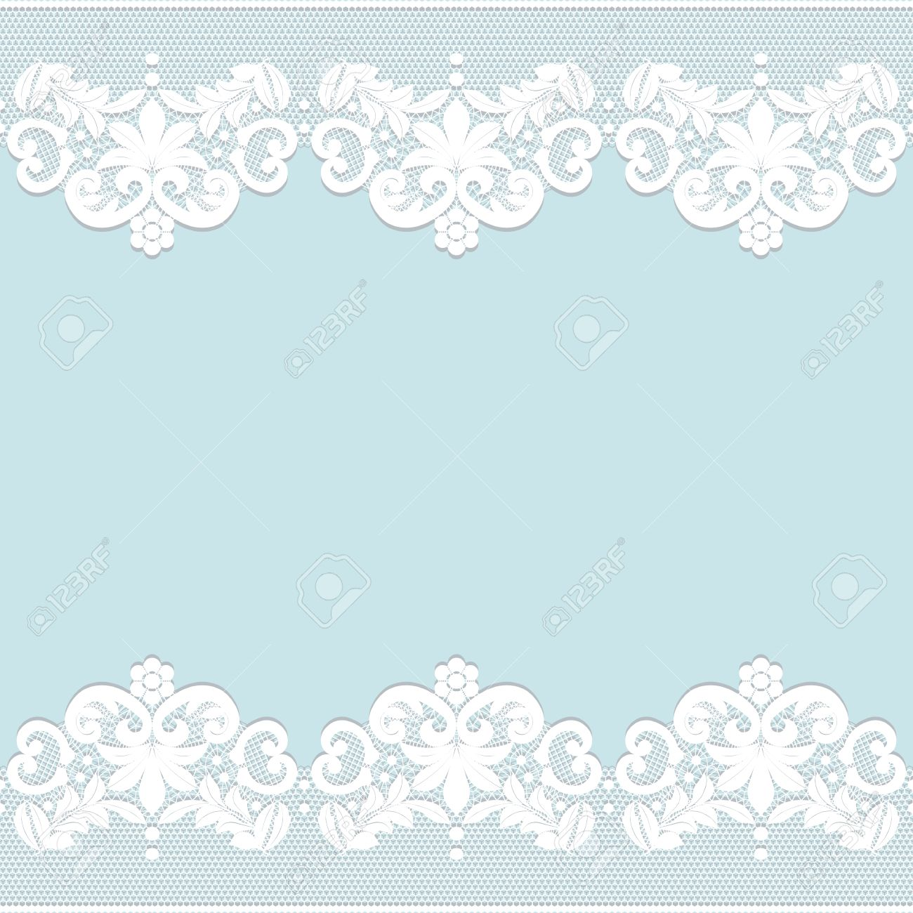 template for wedding invitation or greeting card with white