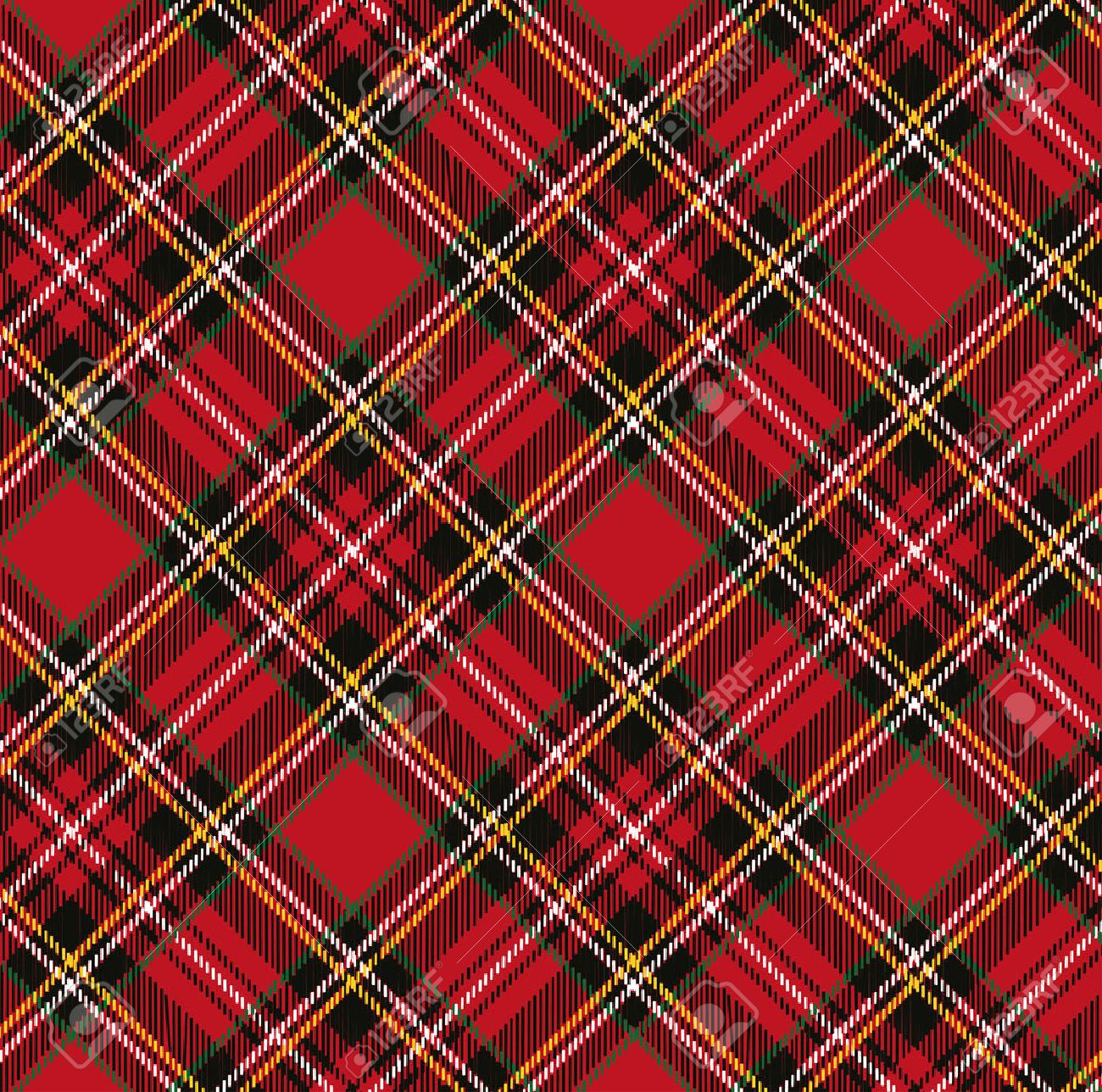 Plaid Retro