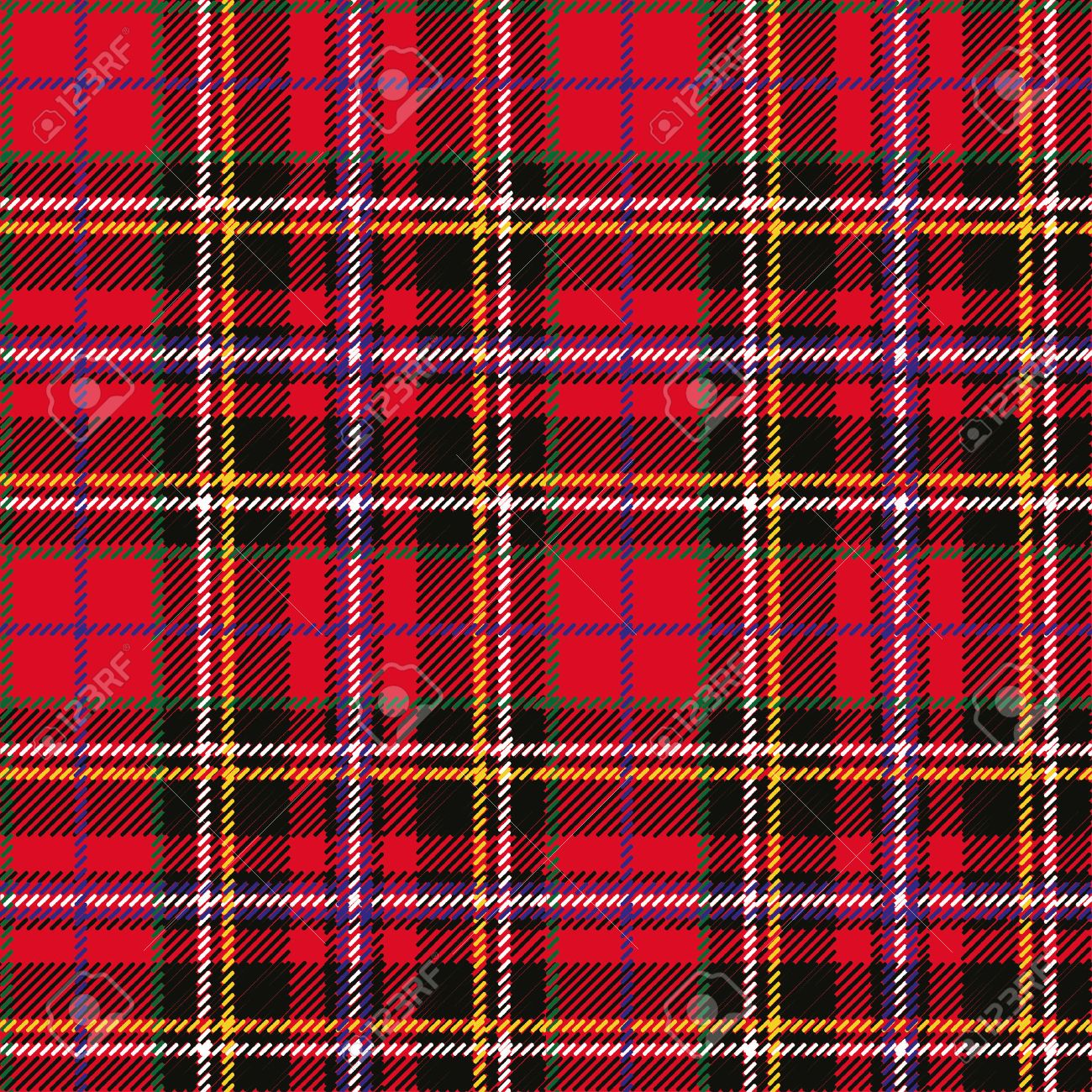 47842599 tartan plaid seamless pattern wallpaper wrapping paper textile retro style fashion illustration vect